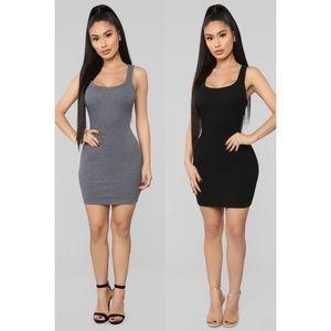 Fashion Nova One of the Boys Dress x2 BUNDLE NWT